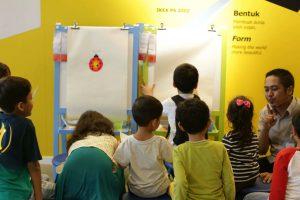 Suasana belajar di YXGK Art School BSD